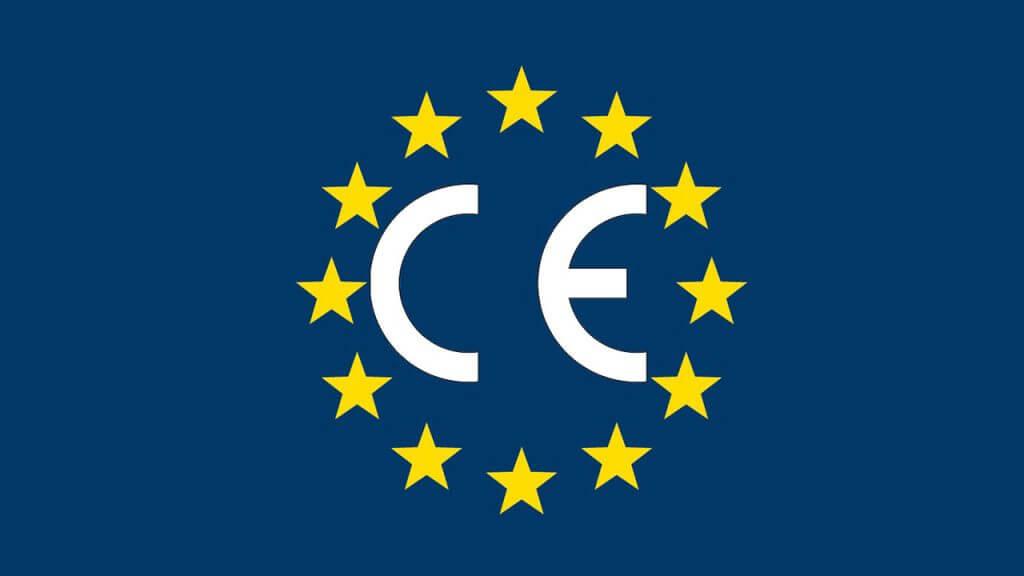 Marcado CE, certificado de conformidad obligatorio en la Unión Europea, según la Directiva 2006/42/CEE